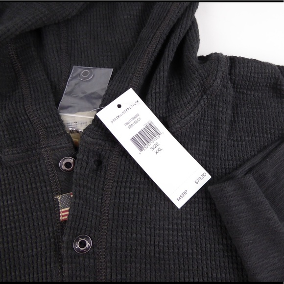 good texture for whole family unique design Denim & Supply Ralph Lauren Waffle Knit Hoodie NWT NWT